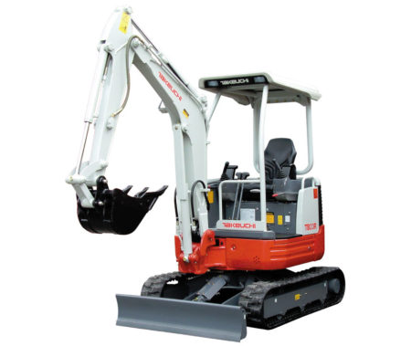 Excavating Contractor, Takeuchi Mini Excavator in Ulladulla