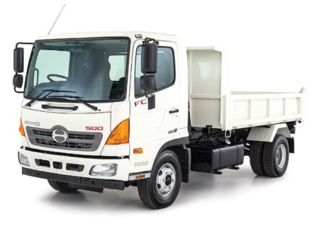 Excavating Contractor, Hino 500 Tipper truck for hire